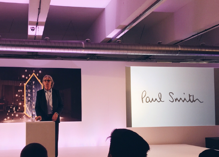 Paul Smith D&AD Festival 2016